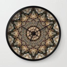 Mandala Isolation Wall Clock