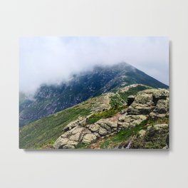 Mount Lafayette in the Clouds Metal Print