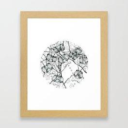 les étrangers Framed Art Print