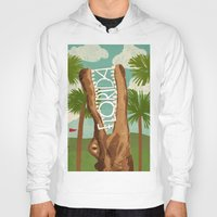 florida Hoodies featuring Florida by Santiago Uceda