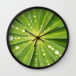 Botanical Mandala Wall Clock