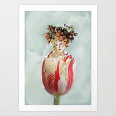 La Tulipe Art Print