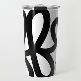 Coffee Not War (Black) Travel Mug