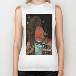 THE DJ FROM THE OUT OF SPACE BACKING ENSEMBLE Biker Tank