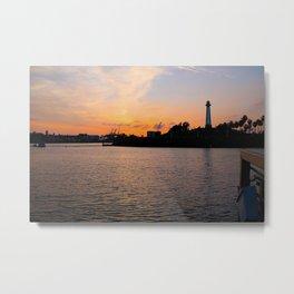 The lighthouse. Metal Print