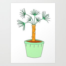Mini Palm Tree Art Print