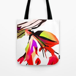Lobster Flower Tote Bag