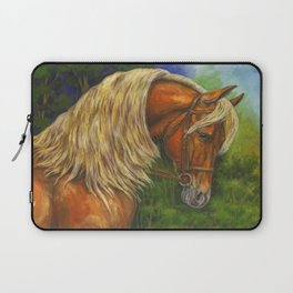 Sorrel Horse with Light Mane Laptop Sleeve