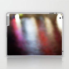 Light Art | Melbourne city (Yarra River- Water Movement) Laptop & iPad Skin