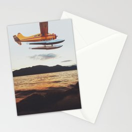 Float Plane Flyby Stationery Cards