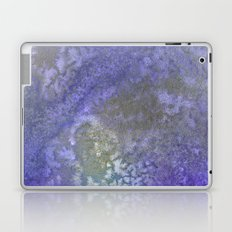 Gold And Blue Abstract Laptop & iPad Skin