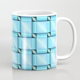 abstract pattern in metal Coffee Mug