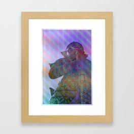PIXELLATE MY LOVE Framed Art Print