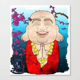Smiling Buddha Matryoshka/Nesting Doll Canvas Print