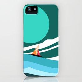 Sea - A Sleeping Demon. iPhone Case