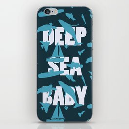 Deep Sea BaBy iPhone Skin