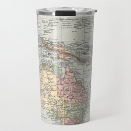 Vintage Map of Oceania (1892) Travel Mug