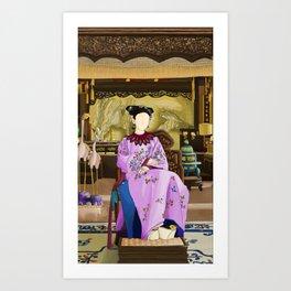 Kangxi's Queen Art Print