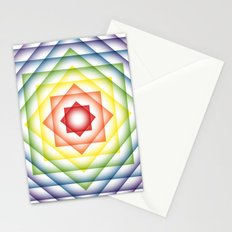 ROY G BIV Overlay Stationery Cards