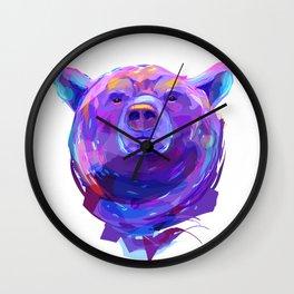 Grizzly bear (Animal set) Wall Clock