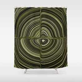 Electric Field Art XXXII Shower Curtain