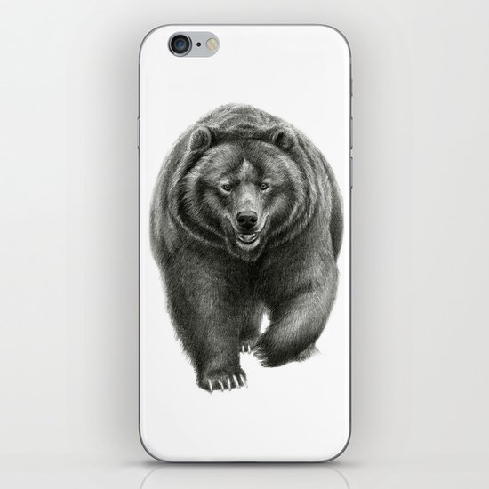Brown Bear SK068 iPhone & iPod Skin