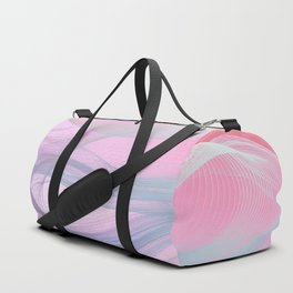 Flow Motion Vibes 1. Pink, Violet and Grey Duffle Bag