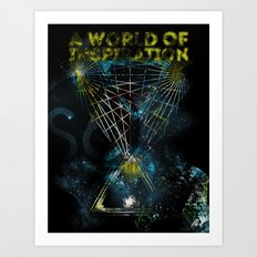 A World of Inspiration Art Print