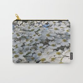 Blanket of Dogwood blooms Carry-All Pouch