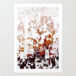 blush abstract. 01 Art Print