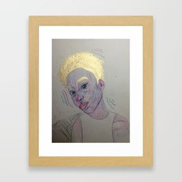 Kris Framed Art Print