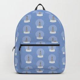 New York City NYC Christmas Snow Globe Backpack