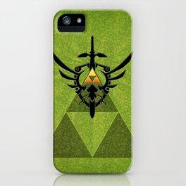 Zelda Link Triforce iPhone Case
