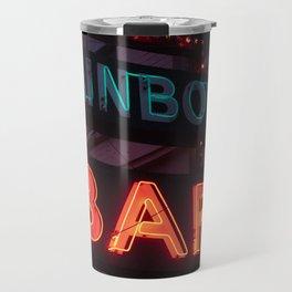 Rainbow Bar - Sheridan, WY Travel Mug