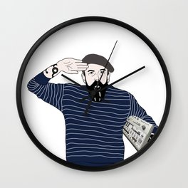 Andrew Weatherall Wall Clock