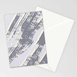 shades of gray marble effect Stationery Cards