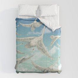 Sea Swans Comforters