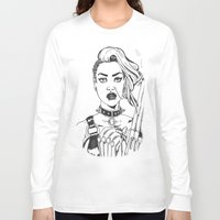 tank girl Long Sleeve T-shirts featuring Tank Girl by Thodoris Mpoutos / Boutos