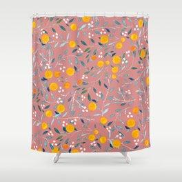 Blorange Shower Curtain