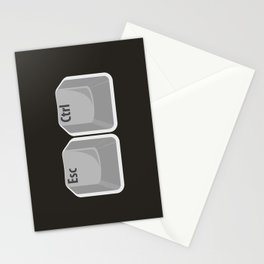 Escape Control Stationery Cards