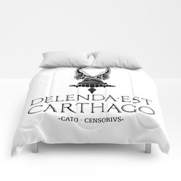 Delenda est Carthago Comforters
