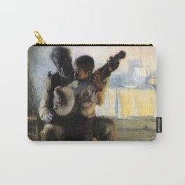 African American Masterpiece 'The Banjo Lesson' by Henry Ossawa Tanner Carry-All Pouch