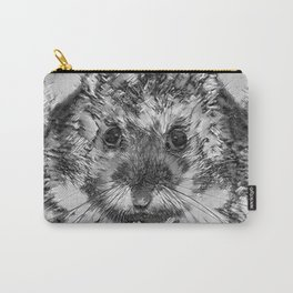 AnimalArtBW_Hamster_20170901_by_JAMColorsSpecial Carry-All Pouch