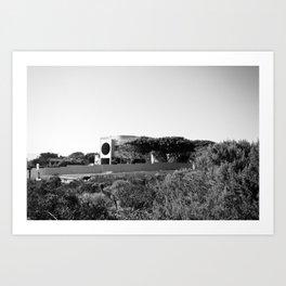 Circle House Art Print