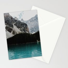 Lake Moraine, Banff National Park Stationery Cards