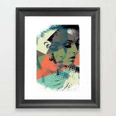 Krass Bros. Lady Framed Art Print