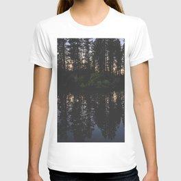 Manzanita Lake at Sunset T-shirt