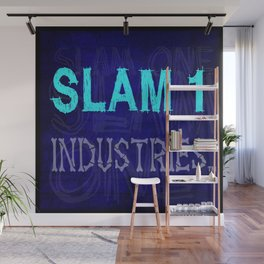 Slam 1 Industries Blue Bones Wall Mural