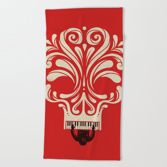 Killer Tune Beach Towel