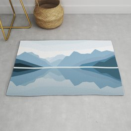 Blue Mountains Reflection Rug